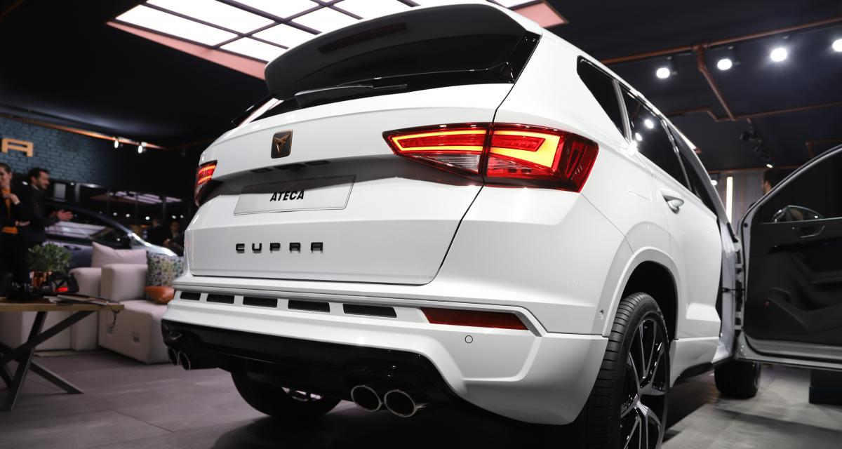 salon de gen ve 2018 nos photos du cupra ateca. Black Bedroom Furniture Sets. Home Design Ideas