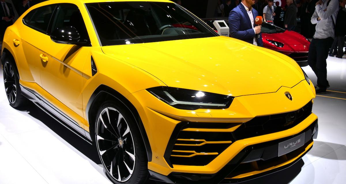 Salon de Genève 2018 : Lamborghini Urus, l'effet boeuf (photos)