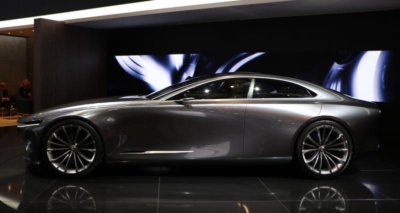 Genève 2018 : Mazda Vision Coupé Concept, la future Mazda6 en filigrane ?