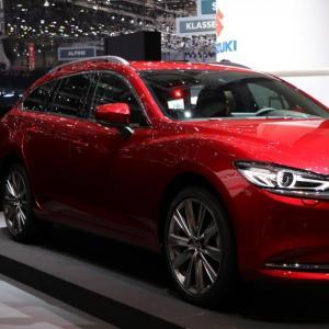 Salon de Genève : Mazda6 SW restylée, dernière ligne droite (photos)