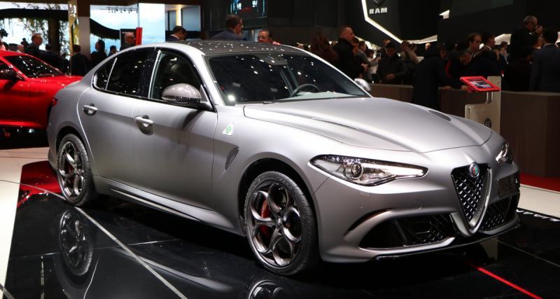 Salon de Genève : Alfa Romeo Giulia Quadrifoglio Nring, souvenirs de piste (photos)