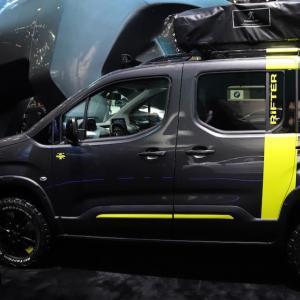 Salon de Genève : Peugeot Rifter 4x4 Concept, même pas peur (photos)