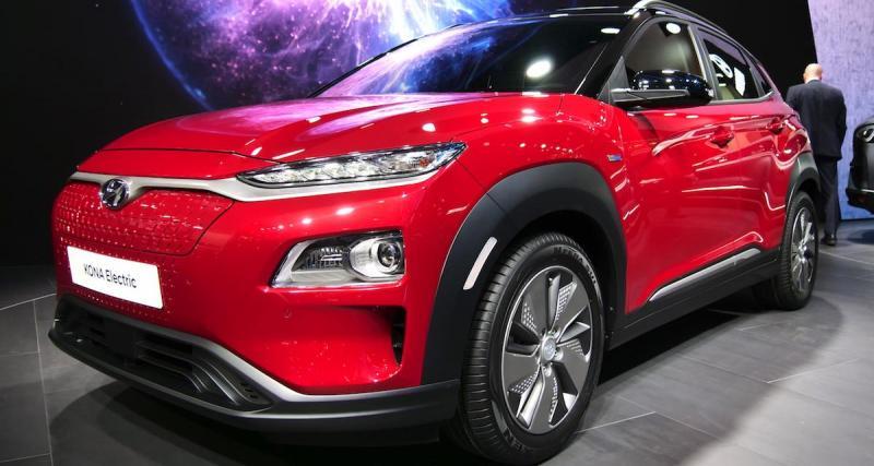 Salon de Genève : Hyundai Kona Electric, une version ''+'', une version ''-'' (photos)