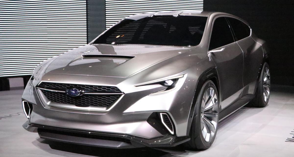 Salon de Genève : Subaru Viziv Tourer, nos photos du concept