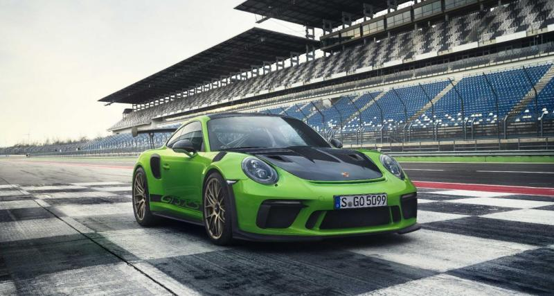 Salon de Genève : Porsche 911 GT3 RS restylée, paradis vert (vidéo)
