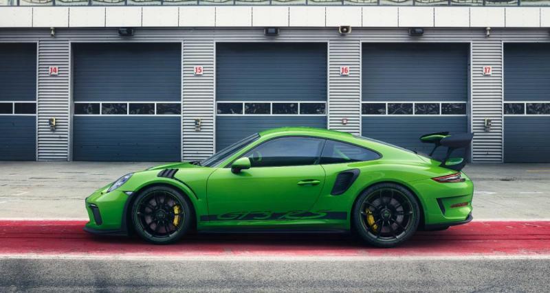 Porsche 911 GT3 RS (2018) : en direct de Genève !