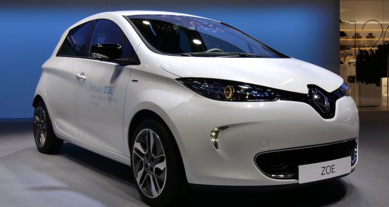 Salon de Genève : nos photos de la Renault ZOE R110
