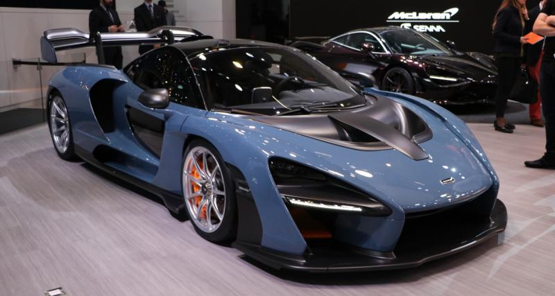 Salon de Genève : nos photos de la McLaren Senna Carbon Theme