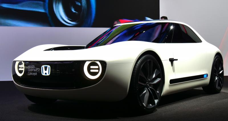Salon de Genève : nos photos du concept Honda Sports EV
