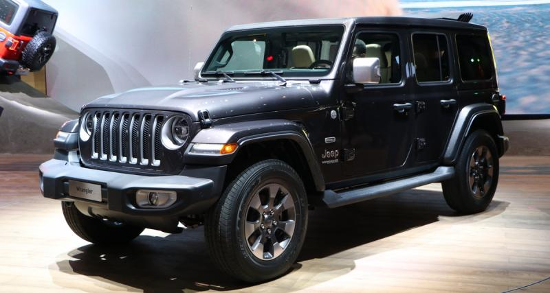 Salon de Genève : Jeep Wrangler, dinosaure branché (photos)