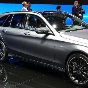 Salon de Genève : nos photos de la Mercedes-AMG C43