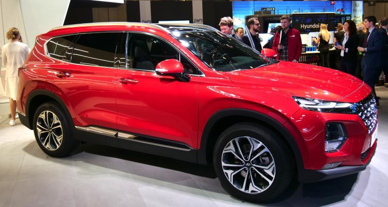 Salon de Genève : nos photos de la Hyundai Santa Fe 2018