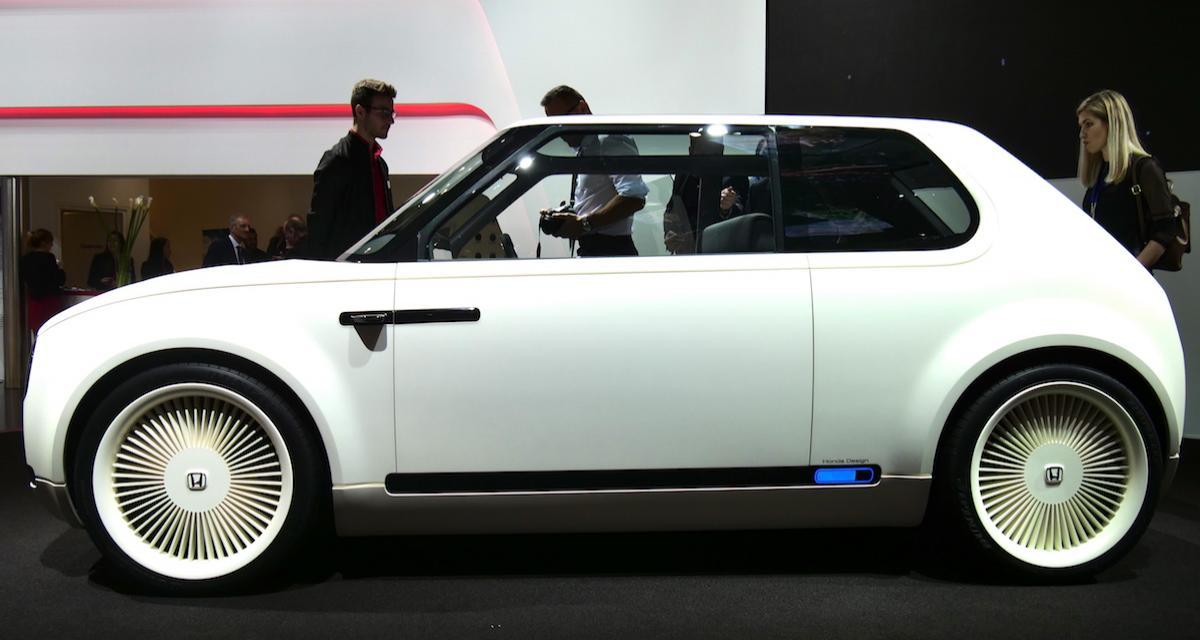 Salon de Genève : nos photos de la Honda Urban EV