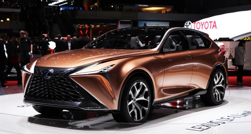 Salon de Genève : Lexus LF-1 Limitless, le bien nommé (photos)