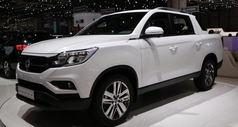 Salon de Genève : nos photos du pickup SsangYong Q200