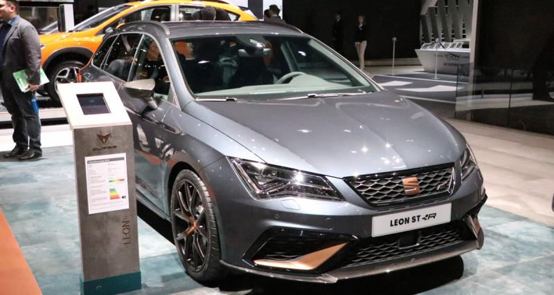 Salon de Genève : Seat Leon Cupra ST R, nos photos du break