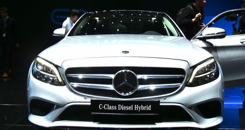 Salon de Genève : Mercedes Classe C restylée, en pilote automatique (photos et vidéo)