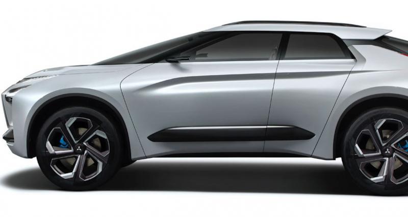 Salon de Genève : Mitsubishi e-Evolution Concept, nom de scène