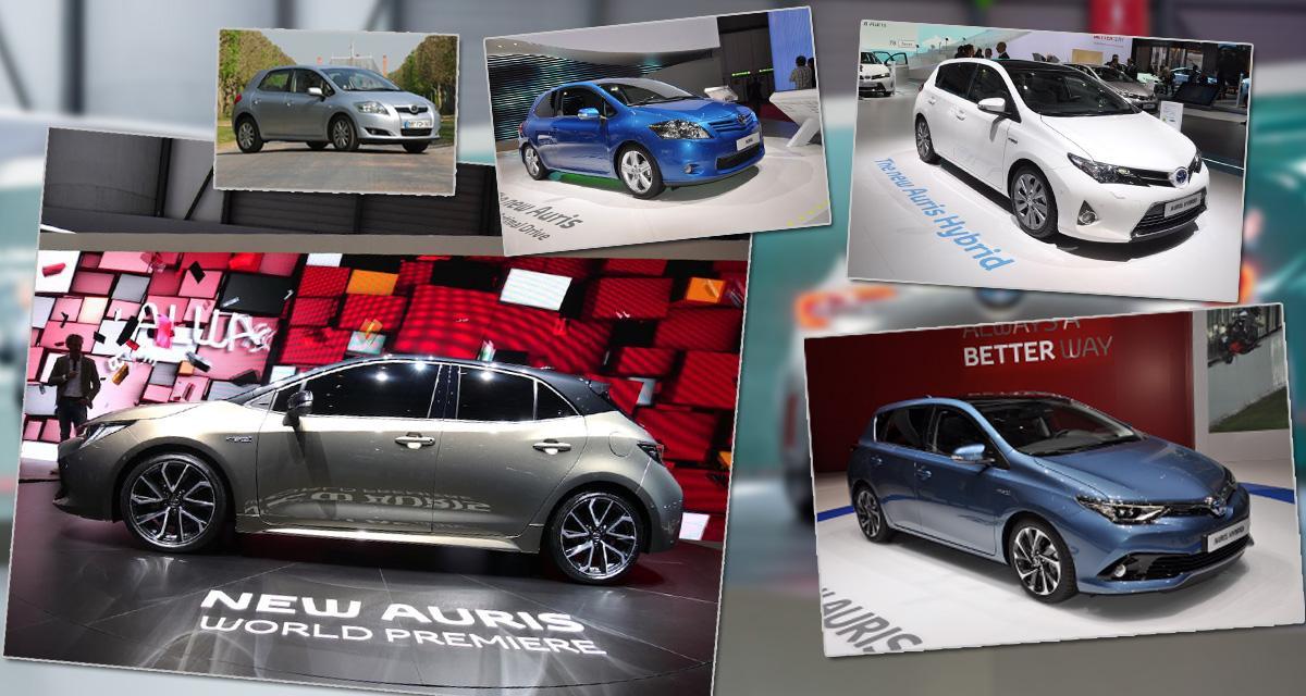 Genève 2018: la Toyota Auris au fil des générations