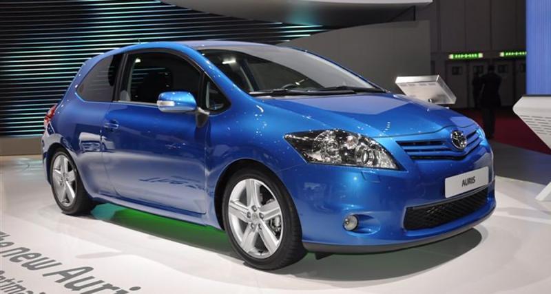 Toyota Auris restylée (2010-2012)