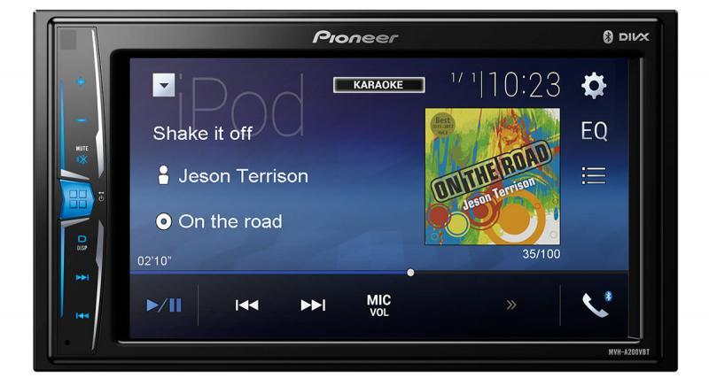 Pioneer commercialise un nouvel autoradio vidéo dédié aux sources nomades