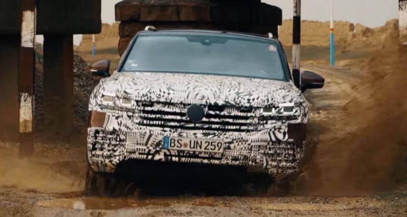 Nouveau Volkswagen Touareg : présentation jeudi prochain