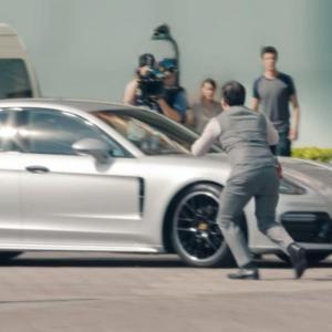 Jacky Ickx ruine une caméra cachée de Porsche