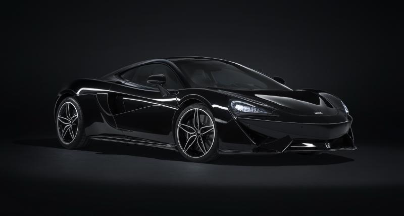 La McLaren 570GT s'habille en All Black
