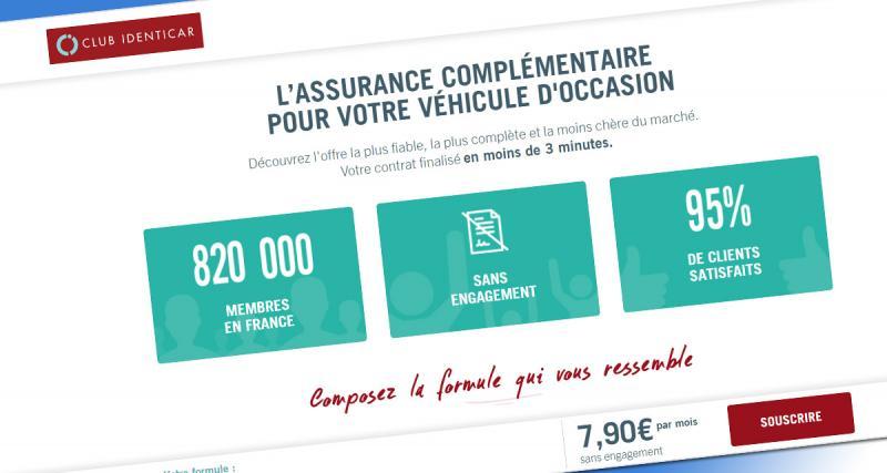 Club Identicar: les véhicules d'occasion peuvent aussi être protégés