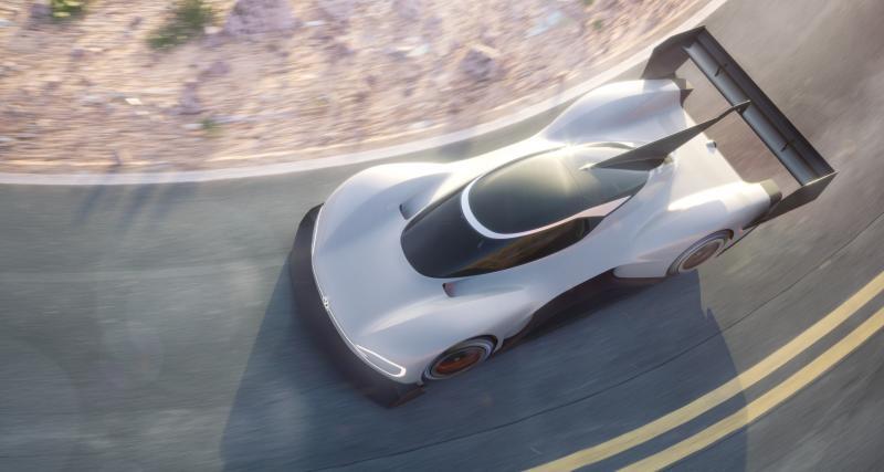Volkswagen : Romain Dumas au volant du proto de Pikes Peak 2018