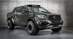 Mercedes Classe X par Pickup Design : Raptor à l'allemande