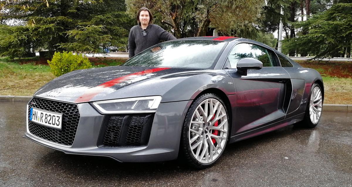 Essai Audi R8 RWS : un brin de folie