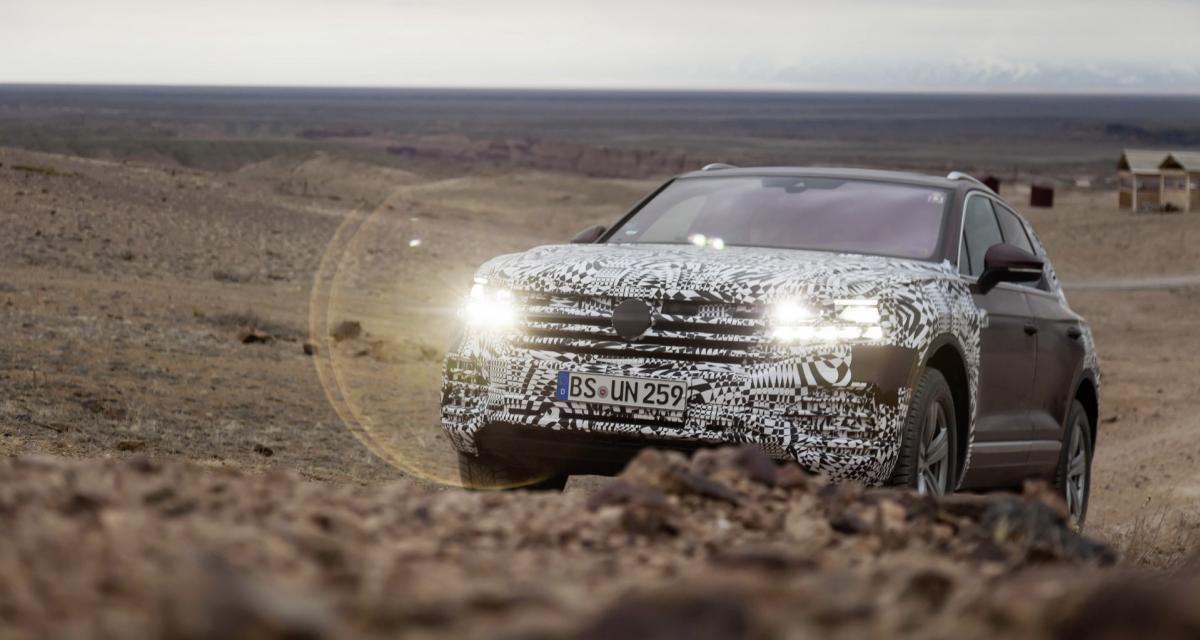 Volkswagen Touareg 2019 : tout ce que l'on sait à 48 heures de sa présentation