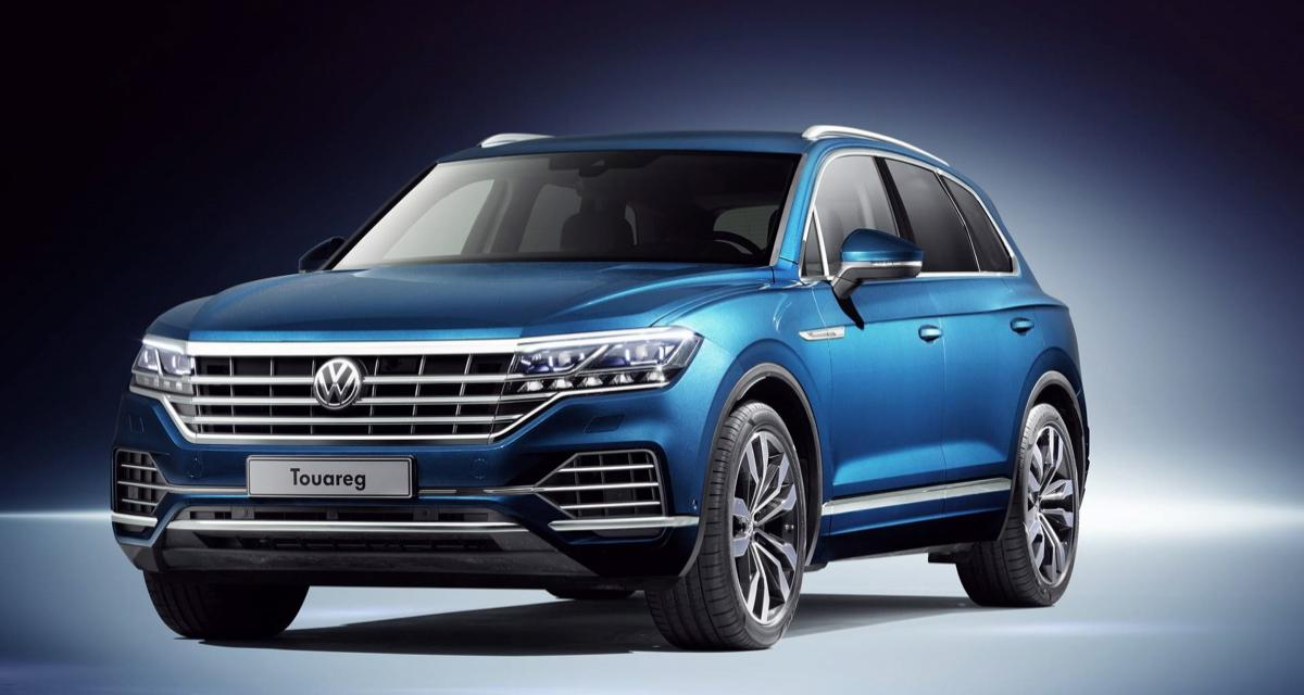 volkswagen touareg 2019 les photos officielles. Black Bedroom Furniture Sets. Home Design Ideas