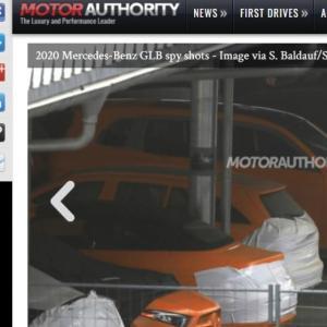 Mercedes GLB : le SUV inédit surpris sans camouflage