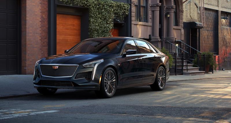 Cadillac CT6 V-Sport : 550 ch pour faire peur aux allemandes