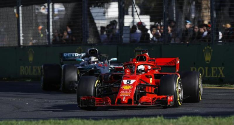 F1 - GP d'Australie : Vettel triomphe, Grosjean frôle l'exploit