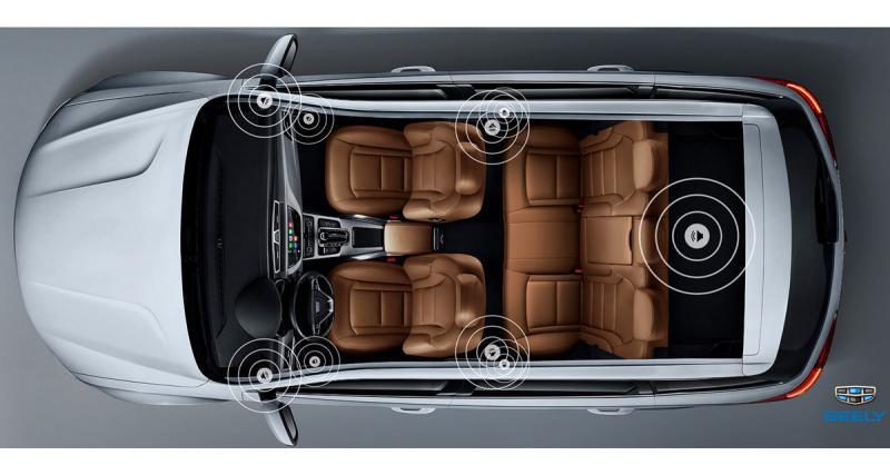 Le SUV Bo Yue de Geely sera équipé d'un système hi-fi Morel