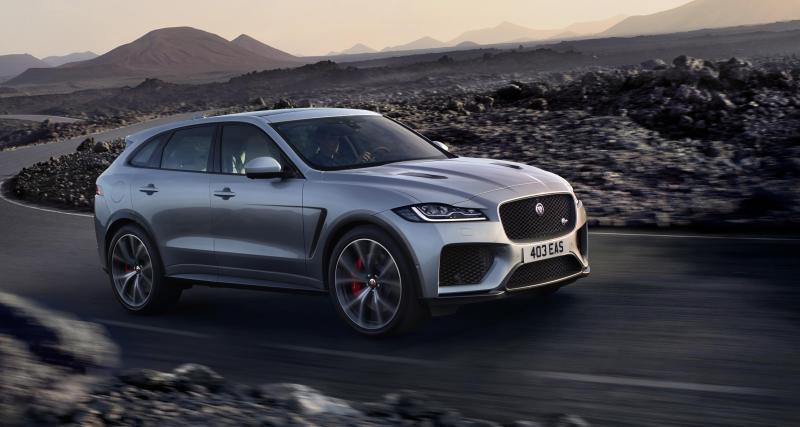 Jaguar F-Pace SVR : le méchant de la bande