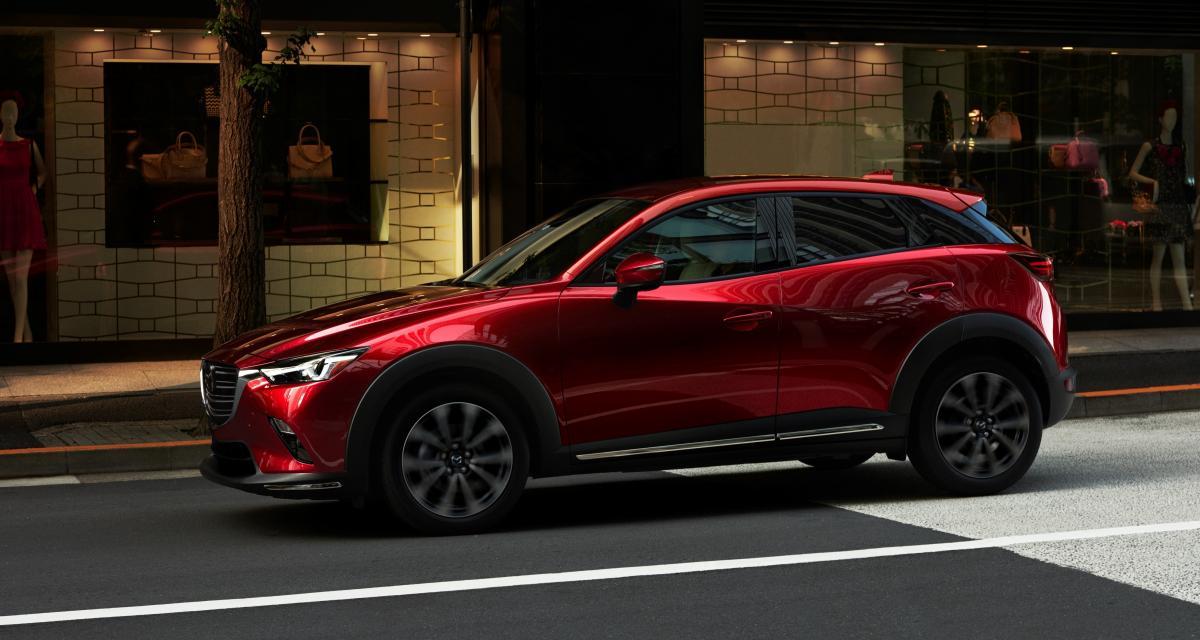Mazda CX-3 restylé : il croit toujours au Diesel