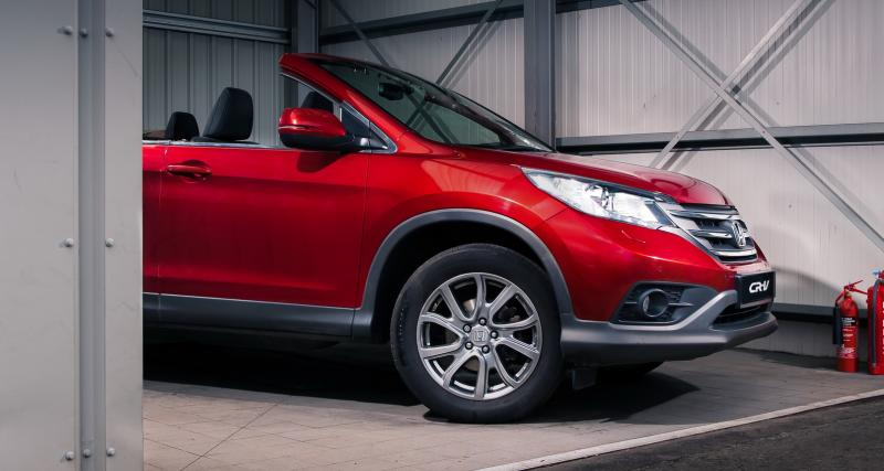 Honda lance un CR-V Roadster moitié moins cher