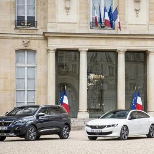 La nouvelle Peugeot 508 se fait toute belle pour l'Elysée
