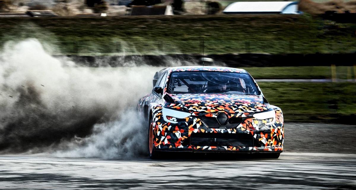 Renault Mégane RS RX : une version Supercar pour le rallycross