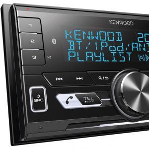 Kenwood commercialise un autoradio double DIN dédié aux sources nomades