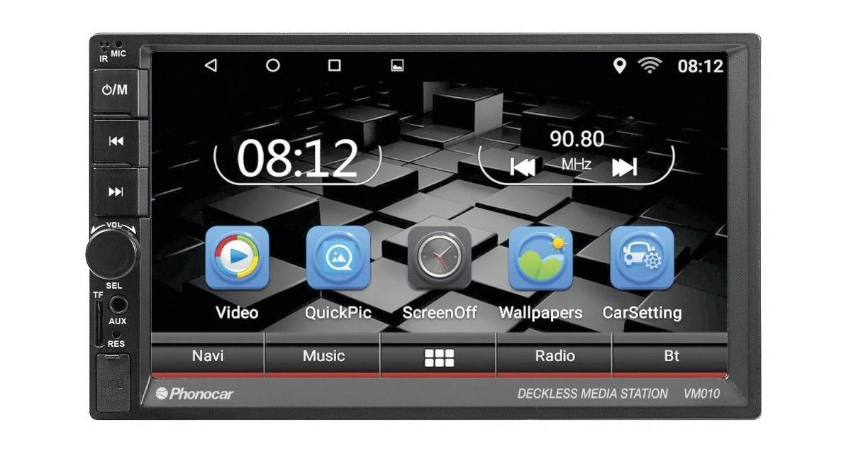 Phonocar présente un autoradio GPS fonctionnant sous Android 6.0