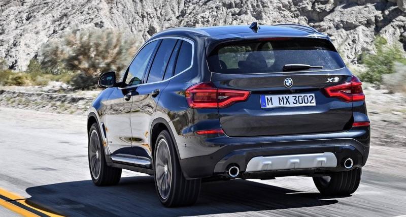 Nouveau BMW X3 : gare à la chute de spoiler !