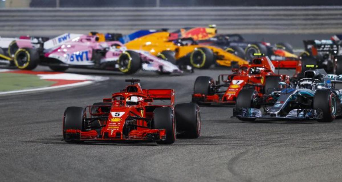 F1 - GP de Bahreïn : Vettel enchaîne, Gasly 4e