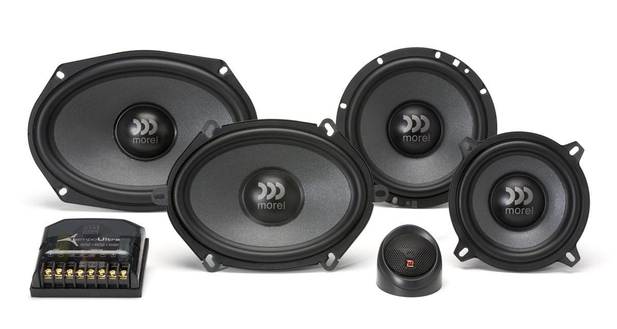 Avec la gamme Tempo Ultra, Morel propose des haut-parleurs performants facilement montables dans les emplacements d'origine