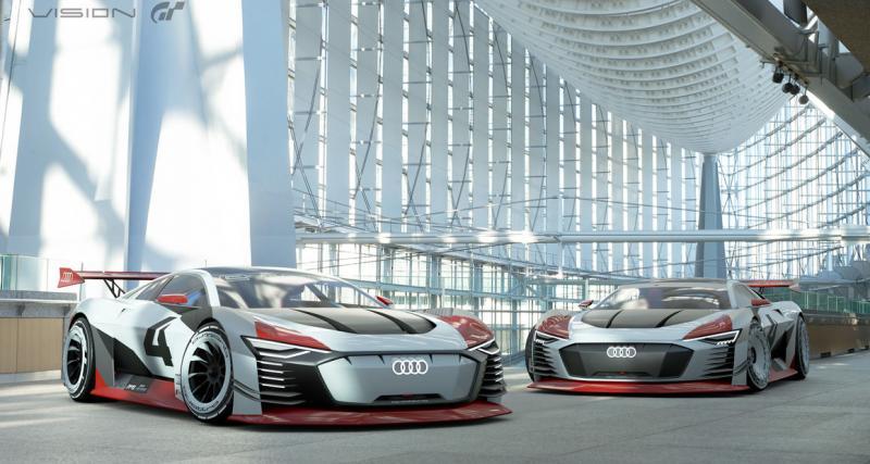 Aussi en hybride pour Gran Turismo Sport