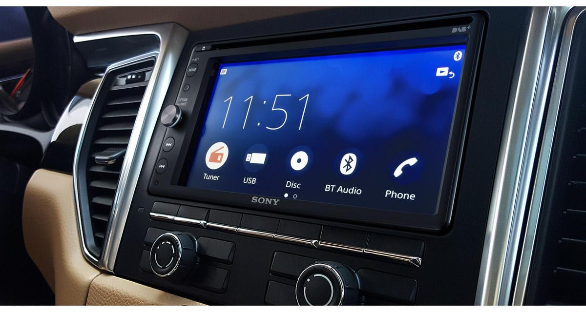 Sony dévoile un nouvel autoradio multimédia avec CarPlay et Android Auto